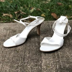 White Diba East Heels